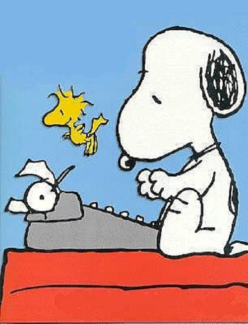 Snoopy Writing Life
